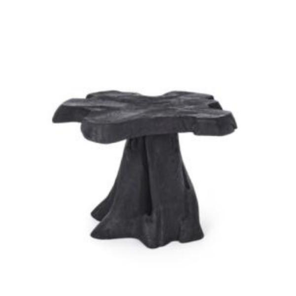 Kavir tavolino nero 50×50