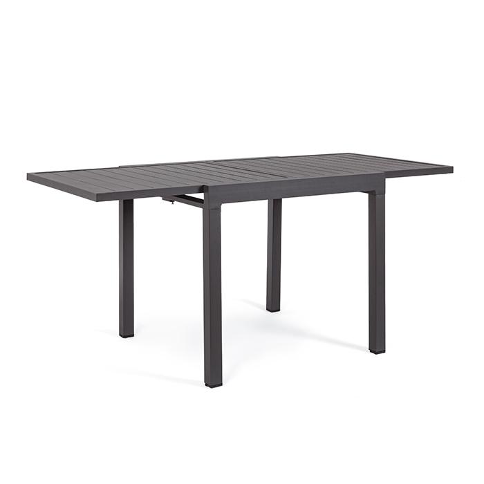 Tavolo allungabile Pelagius 83-166×80 cm Antracite