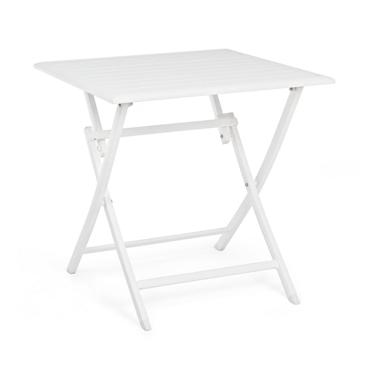 Tavolo Pieghevole Elin 70×70 Bianco